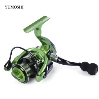 YUMOSHI 13 + 1BB Metal Spinning Reel Fishing Tackle with Foldable Handle(XF4000) - intl