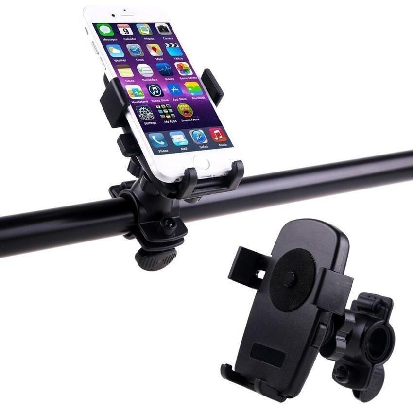 แนะนำ Zhuoda Universal Rotating Cell Phone GPS HOLDER Motorcycle BikeBicycle Handlebar Mount - intl สินค้าราคาประหยัด