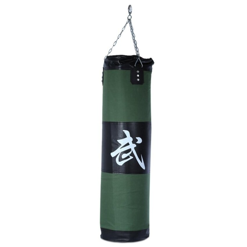 Zooboo 100cm Boxing Striking Drop Hollow Sand Bag with Chain Martial Art - intl