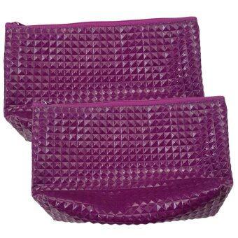 กระเป๋าสตางค์ ( สีม่วง ) แพค 2