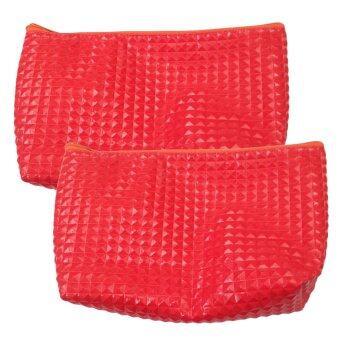 กระเป๋าสตางค์ ( สีแดง ) แพค 2