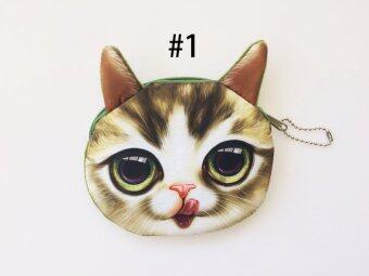 กระเป๋าสตางค์กระเป๋ากุญแจกระเป๋าใส่เหรียญน่ารักการ์ตูน 3D
