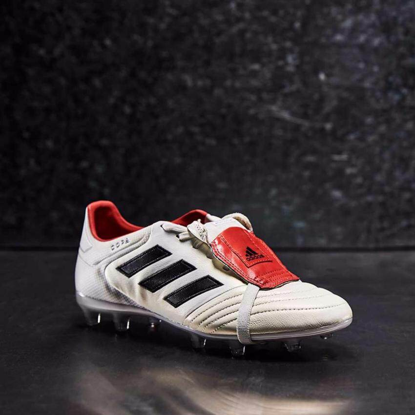 Adidas Football Men's รองเท้าฟุตบอล ผู้ชาย รุ่น Copa Gloro Champagne 17.2 FG (BZ0576) - Off White / Core Black / Red