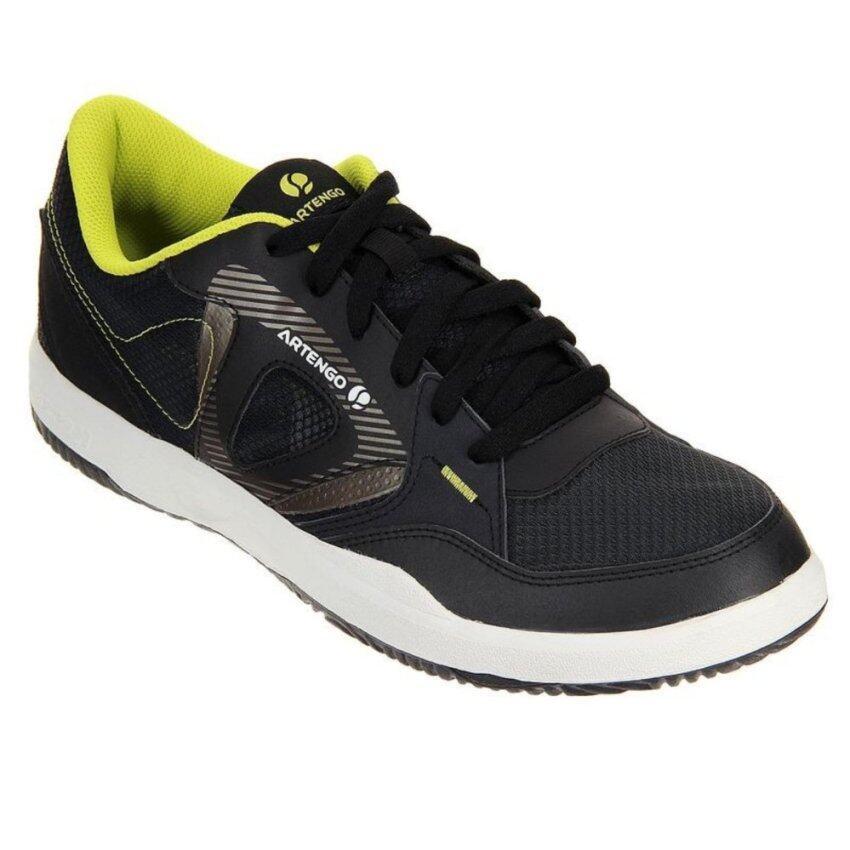 รองเท้าเทนนิส ARTENGO น้ำหนักเบา ให้ความยืดหยุ่น ใส่สบายขณะเล่น รุ่น TS710 (สี ดำ/เหลือง)