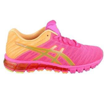 ASICS Women Running รองเท้าวิ่งผู้หญิง GEL-QUANTUM 180 #T5J7N.3494 (HOT PINK/GOLD/ORANGE POP)