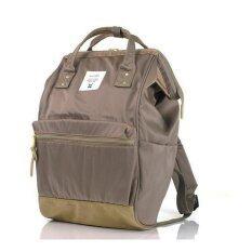 Authentic Anello Regular กระเป๋าเนื้อผ้าร่มกันน้ำ(Graybeige)
