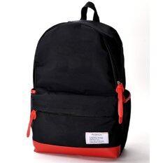 Bag Fashion กระเป๋าเป้ สะพายหลัง แนวสปอร์ต Packer Polysport รุ่น089 (สีดำ)