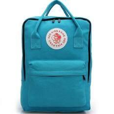 Bag Fashion กระเป๋าเป้สะพายหลังสตรี พร้อมหูหิ้ว รุ่น776 (สีฟ้า)