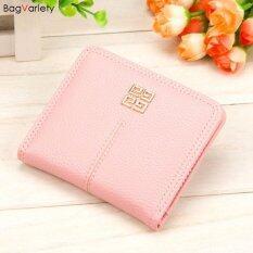 Bagvariety กระเป๋าสตางค์ผู้หญิง ใบสั้น รุ่น Hass Milky Pink สีชมพู ราคา 299 บาท(-65%)