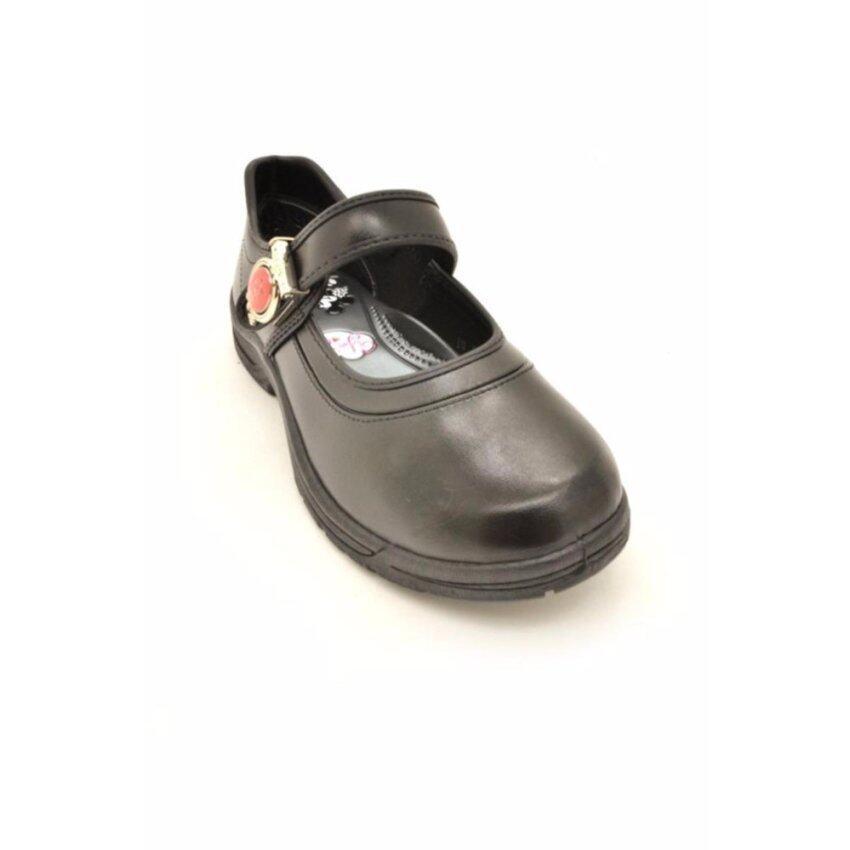 Bata Disney รองเท้านักเรียน เด็กผู้หญิง สีดำลายมินนี่ เม้าส์ รหัส 3416010