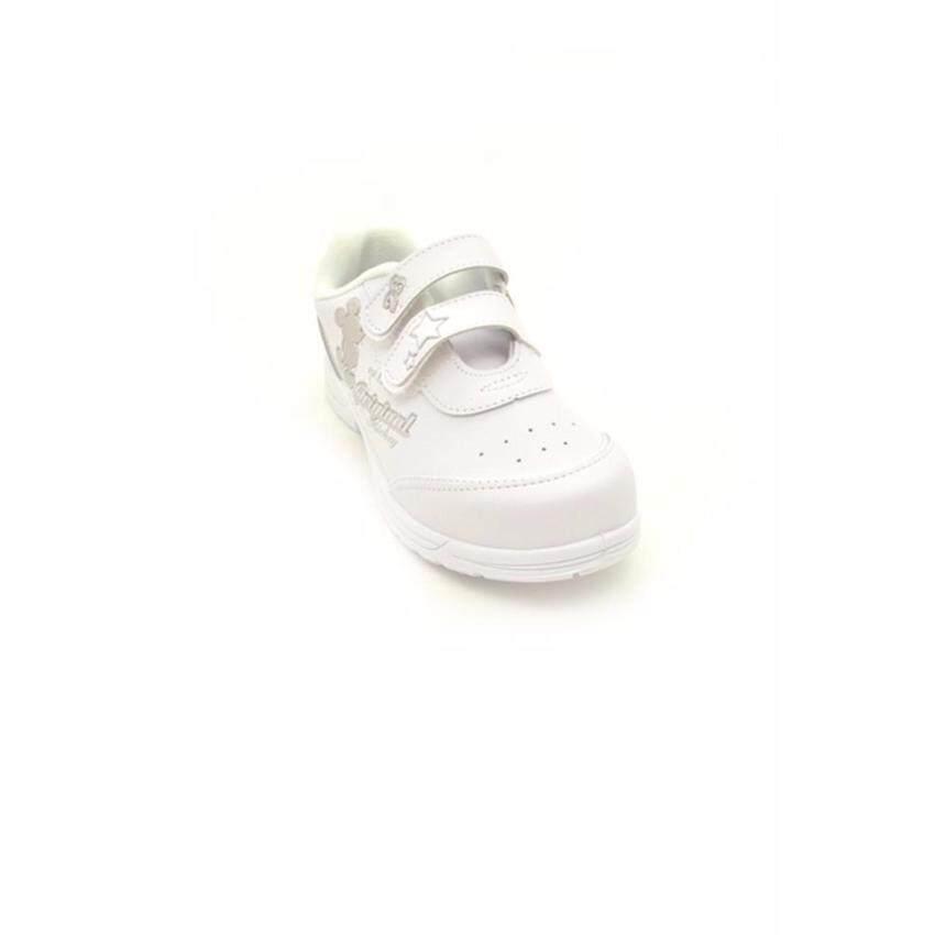 Bata Disney รองเท้านักเรียนผ้าใบ เด็กผู้หญิง สีดำลายมิกกี้ เม้าส์ รหัส 3411011