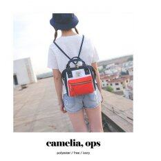 better Japan Women Bag Backpack กระเป๋าเป้สะพายหลัง - White/Red