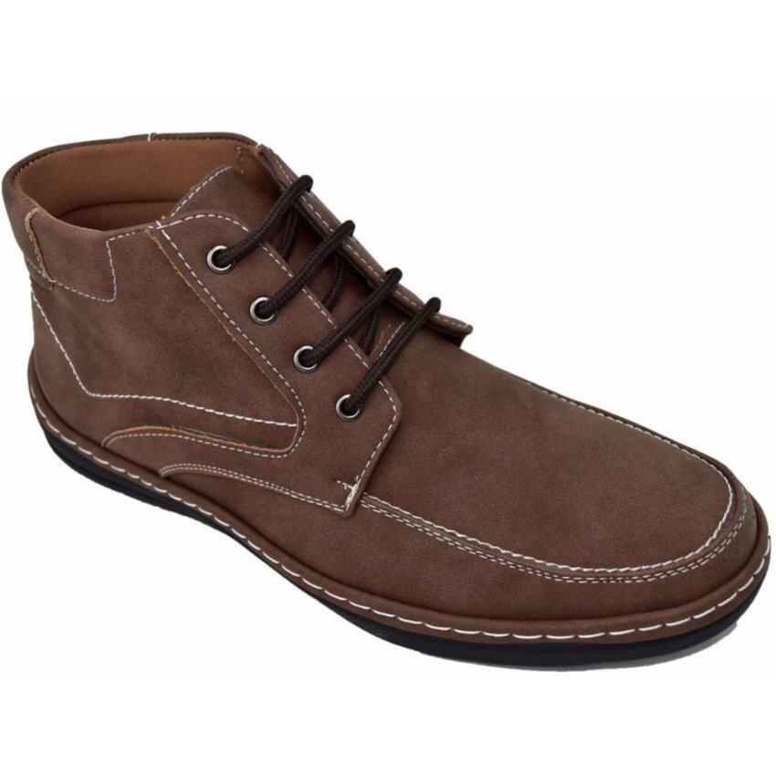 BOK รองเท้าหนังผู้ชายหุ้มข้อ รุ่น BOK134 (Brown) ...