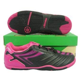 รองเท้ากีฬา รองเท้าฟุตซอล BREAKER BK-0603 ดำชมพู