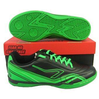 รองเท้ากีฬา รองเท้าฟุตซอล Breaker BK-111 ดำเขียว
