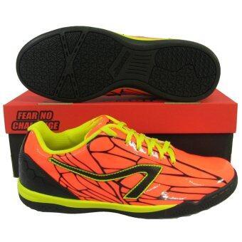 รองเท้ากีฬา รองเท้าฟุตซอล BREAKER BK-121 ส้ม