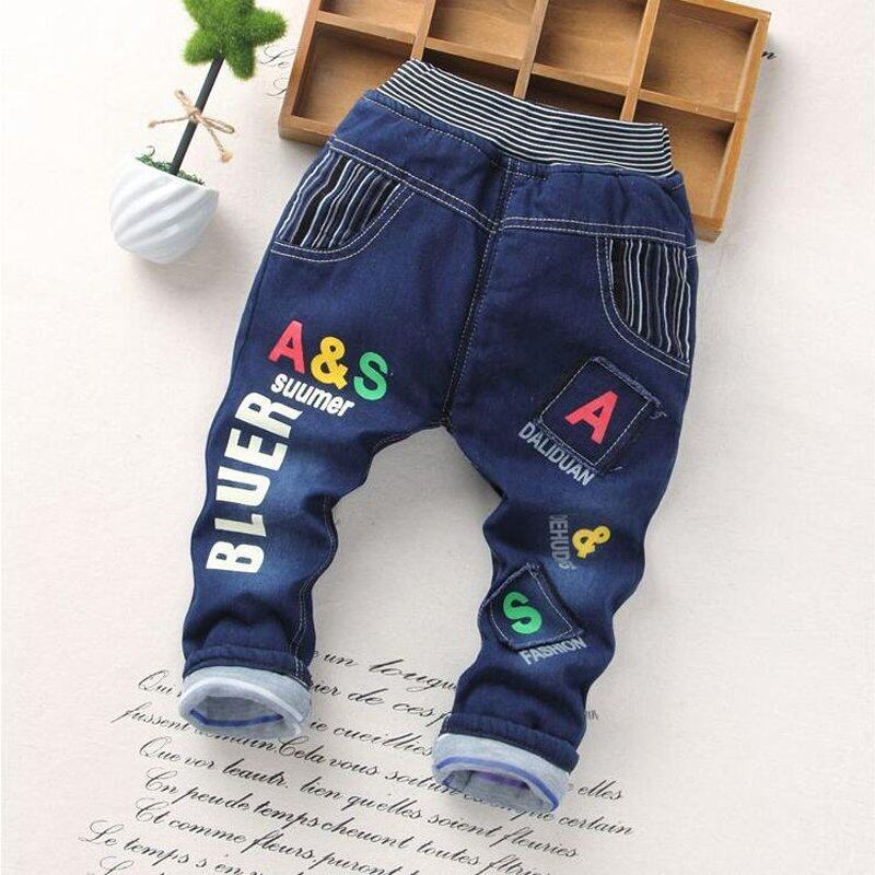 Cartoon printed cotton jeans with children(Style 8) - intl ...