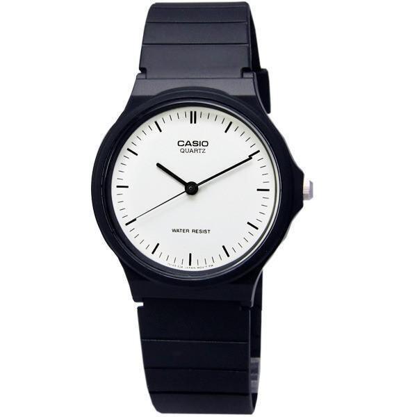 ด่วน Casio Standard นาฬิกาข้อมือชาย สายเรซิ่น รุ่น MQ24-7E - สีดำ กำลังลดราคา