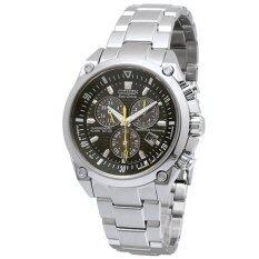 Citizen Chronograph Silver Watch BL5380-66E
