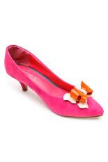 Classy รองเท้าแฟชั่น รุ่น 1468-30 - Red/Pink