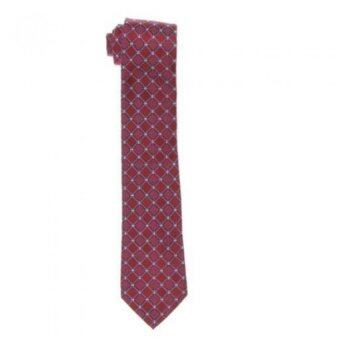 Club Room Layton Neat Red Triangle Tie