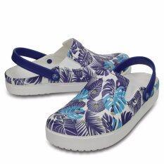 Crocs รองเท้าลำลองผู้ใหญ่ รุ่น Citilane Graphic Clog (204111-4o5) ราคา 2,290 บาท(-23%)