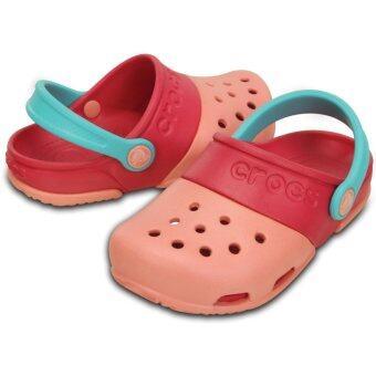 CROCS รองเท้าเด็ก Kids' Electro II Clog รหัส 15608-6JI (เมล่อน)