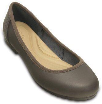 CROCS รองเท้าแตะ รุ่น Marin ColorLite Flat W-Espresso/Espresso-W9.5