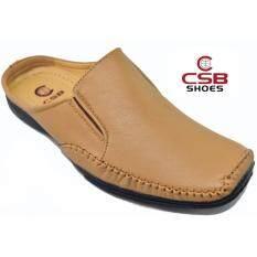 Csb รองเท้าหนังผู้ชาย Csb รุ่น Cm400(สีแทน) ราคา 479 บาท(-60%)