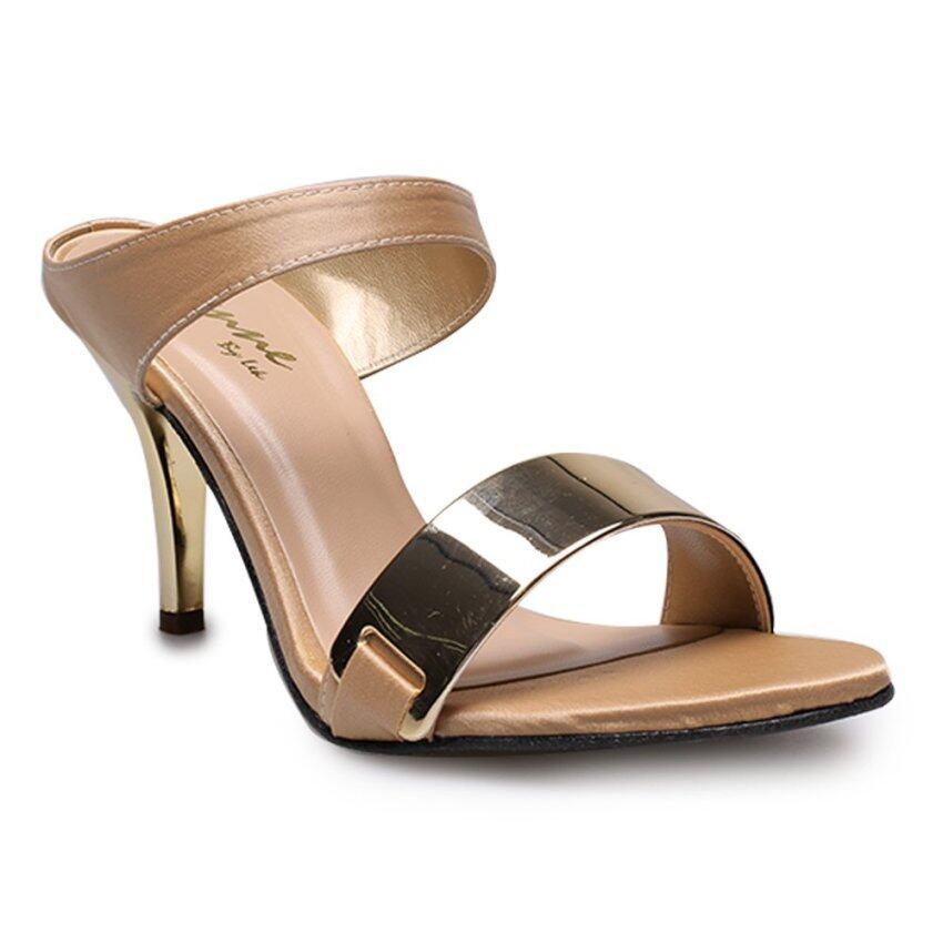 ด่วน DTN STYLE รองเท้าส้นสูงแฟชั่นผู้หญิง รุ่น DY9559-Cream กำลังลดราคา