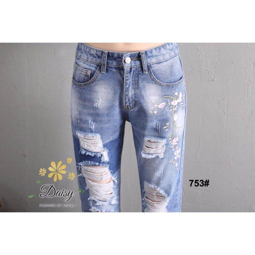 Elisa Thailand เสื้อผ้าแฟชั่นสไตล์เกาหลีthe best comfortable jeans by Hong kong