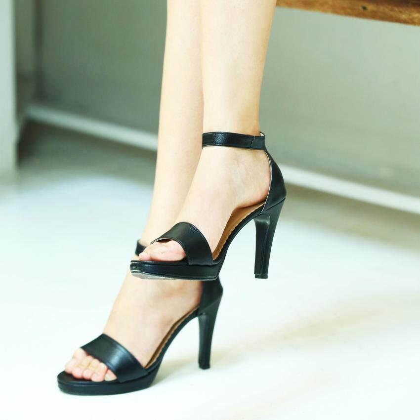 ด่วน ESTHER รองเท้าแฟชั่นผู้หญิงส้นสูง รุ่น M180 - Black (สีดำ) กำลังลดราคา