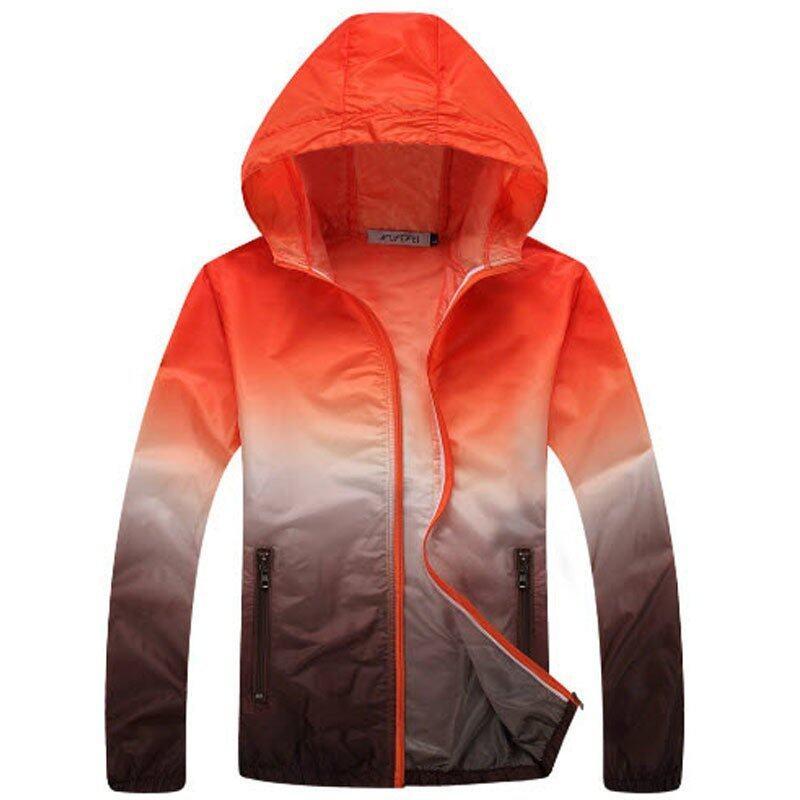 ราคาพิเศษ เสื้อผ้าร่มกัน UV รุ่นcolorful สีส้ม สำหรับคุณ