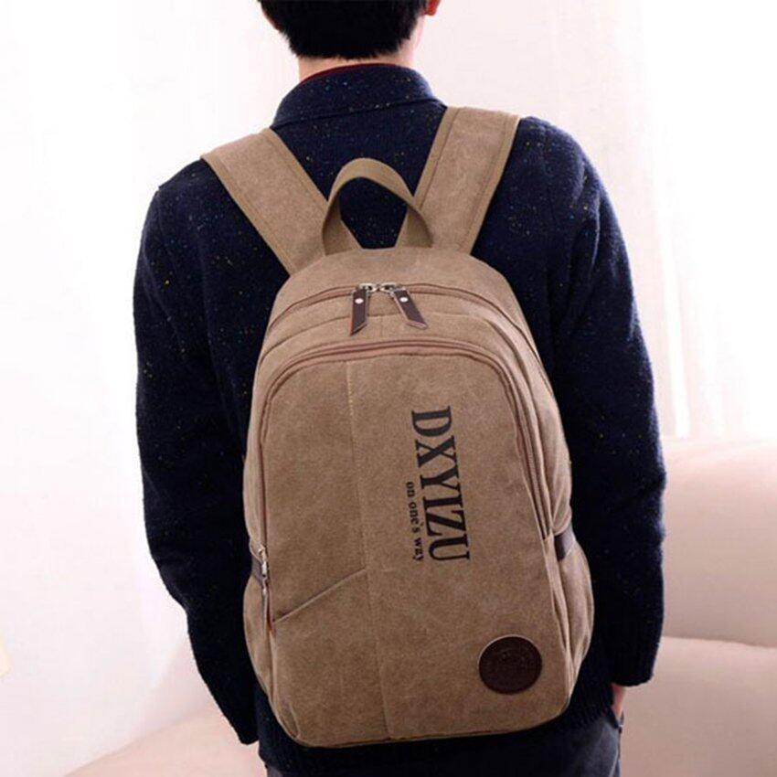 FTshop กระเป๋าผู้ชาย+กระเป๋าสะพาย+กระเป๋าเป้+กระเป๋าแฟชั่น+กระเป๋าใบใหญ่ รุ่น88c (สีน้ำตาล)