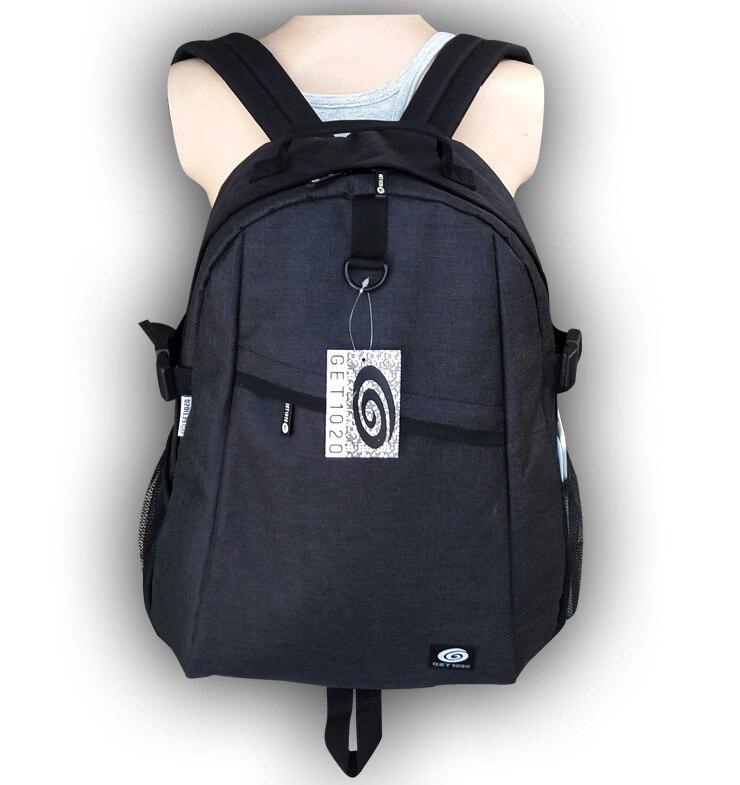 GET1020 กระเป๋าเป้ กระเป๋าสะพาย แฟชั่น VP601oxford (สีเทา)