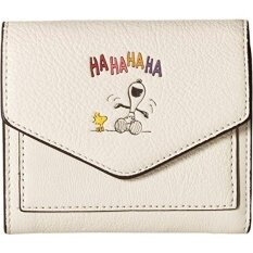GPL/ COACH Womens Box Program Snoopy Wallet Qb/Chalk One Size/ship from USA - intl image