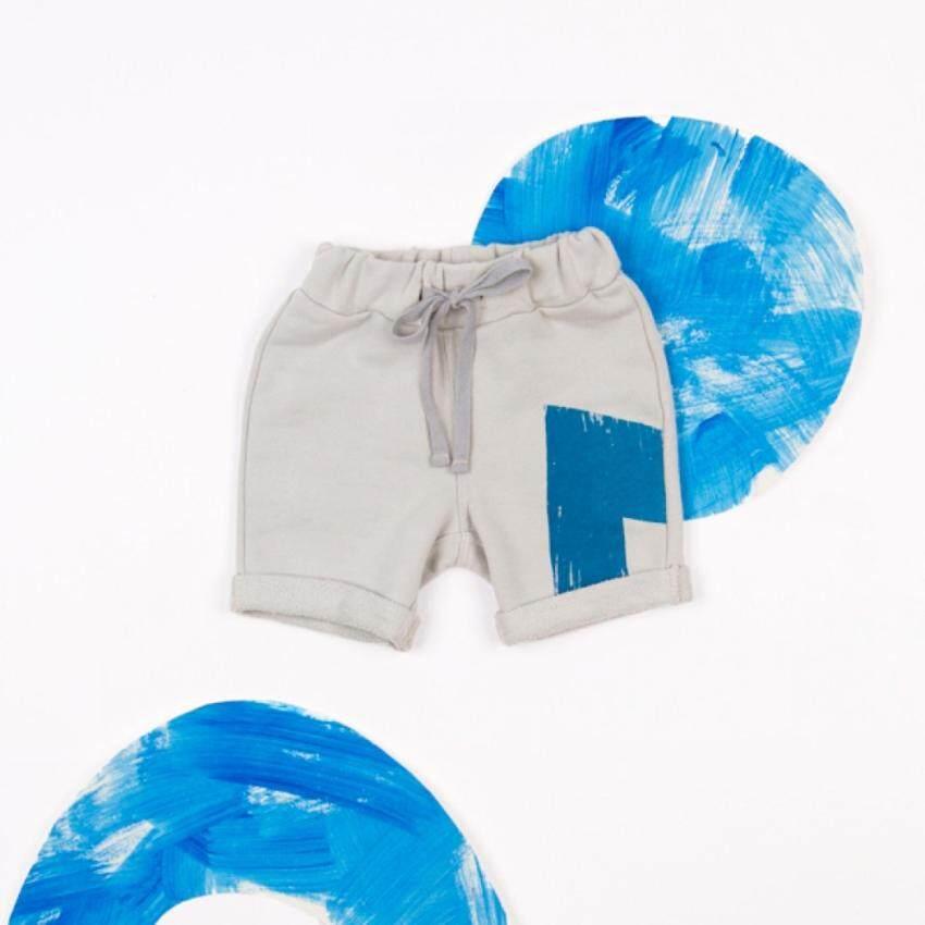 กางเกงขาสั้น Grey Terry Shorts ...