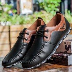 I ลำลองฤดูใบไม้ร่วงใหม่ Peas รองเท้า (สีดำ B22) ราคา 534 บาท