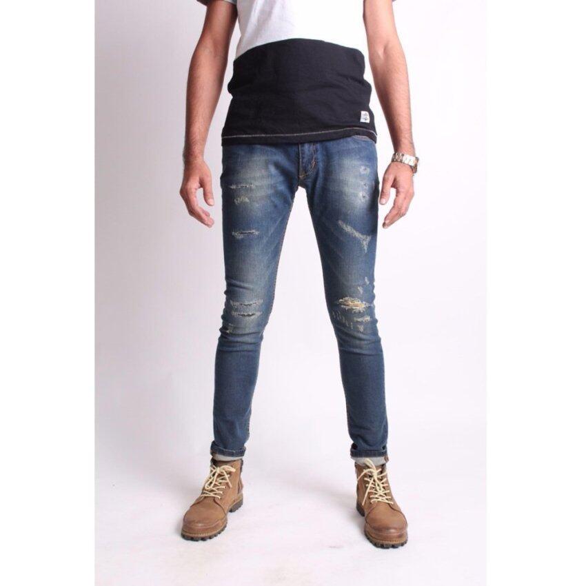 กางเกงยีนส์ Jack Russel J547 Skinny-fit type ...