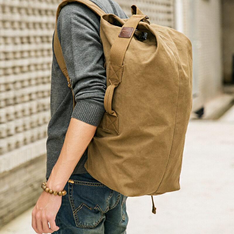 KAKA กระเป๋าสัมภาระอเนกประสงค์ European & American Minimalist Style รุ่น 929 (สีดำ)