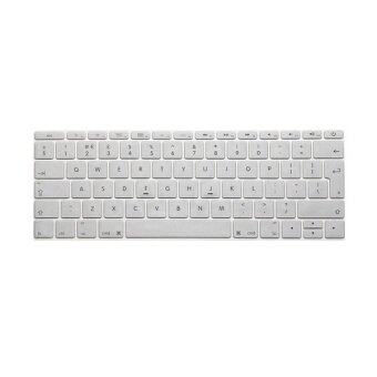 Keyboard Protective Film 13 Inch for Apple MacBook Air MacBook Pro European Version Silver