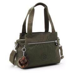 Kipling Elysia Shoulder Bag - Cactus Khaki