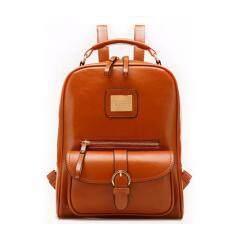 กระเป๋าเป้ UNI Leather สีน้ำตาล