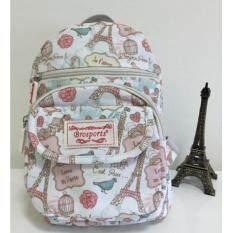 กระเป๋าเป้สะพายกันน้ำ brosports รุ่น V2267(Paris_pink)