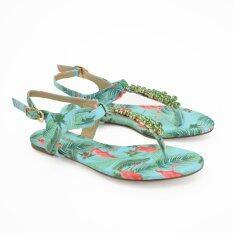 MARIE CLAIRE รองเท้าแฟชั่น ผู้หญิง แตะลำลอง FLAT/SANDAL สีฟ้า รหัส 5719677