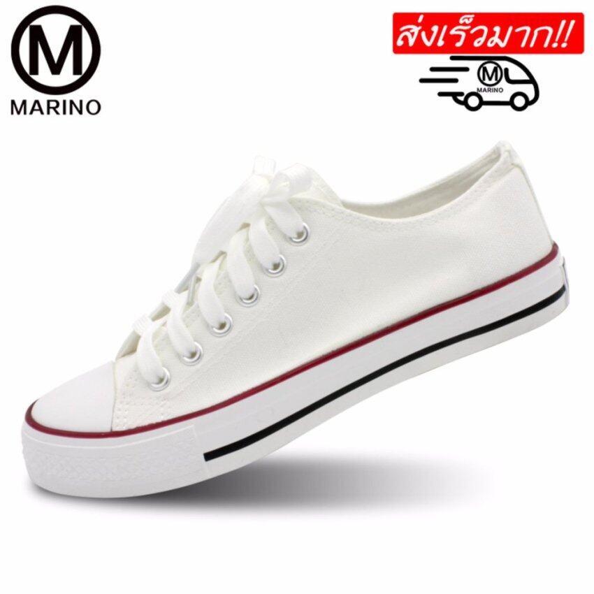 Marino รองเท้าผ้าใบผู้หญิง รุ่น A001 (สีขาว)