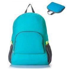 Marino กระเป๋าเป้ กระเป๋าสะพายหลัง กระเป๋าเป้พับเก็บได้ Backpack No.9003 - Blue
