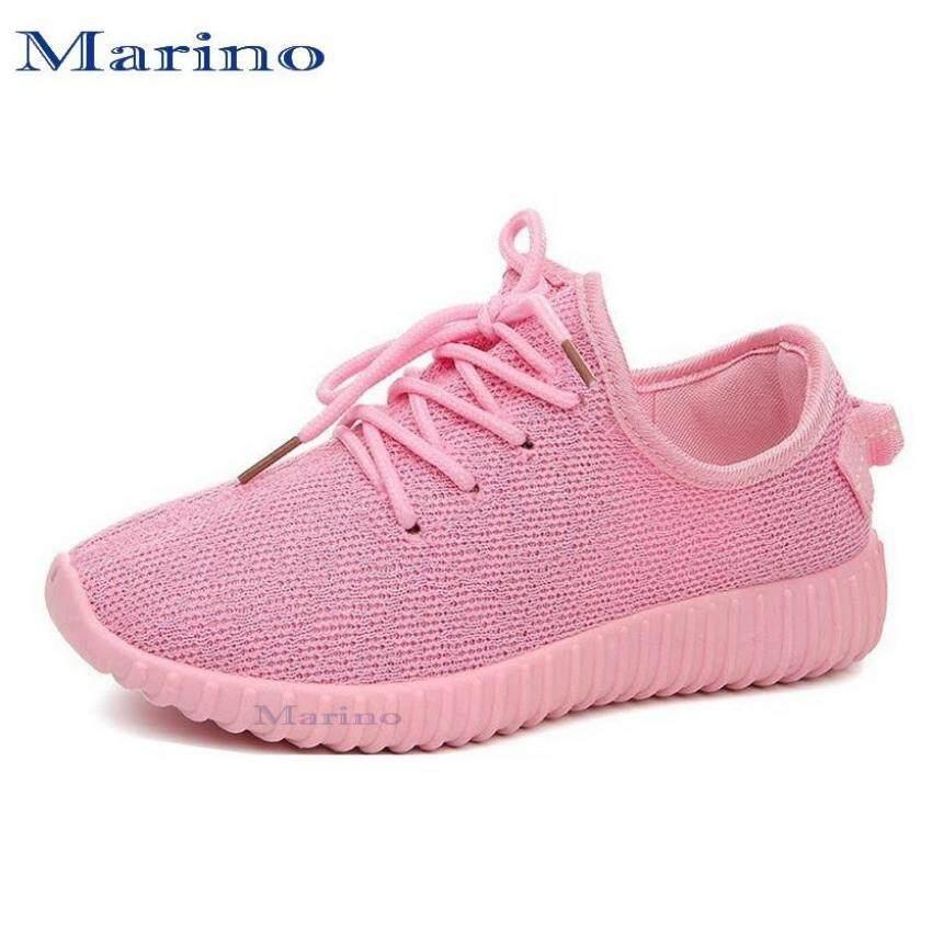 ด่วน Marino รองเท้า รองเท้าผ้าใบผู้หญิง รุ่น A004 - Pink กำลังลดราคา