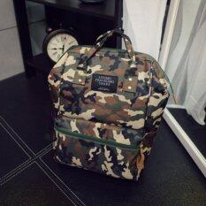 Marverlous กระเป๋า กระเป๋าเป้ กระเป๋าสะพายหลัง Backpack No.2017 - Army Green