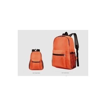 Max Collection Backpack Daypack Lightweight Foldable Outdoor NylonBag Waterproof Backpack for Travel Orange - intl